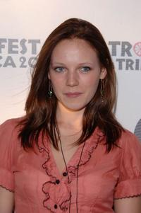 Emma Bell at the Tropfest at Tribeca presented by Target.