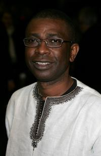 Youssou N'Dour at the UK premiere of