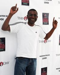 Youssou N'Dour at the Thisday's Africa Rising music and fashion Festival.