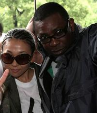 Misia and Youssou N'Dour at the