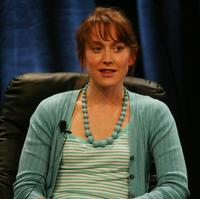 Hattie Morahan at the PBS portion of the Television Critics Association Press Tour.