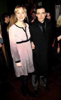 Hattie Morahan and Guest at the after party of the world premiere of