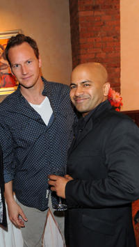 Patrick Wilson and Ajay Naidu at the Juror Welcome Lunch during the 2011 Tribeca Film Festival in New York.