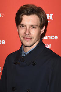 Xavier Samuel at the Utah premiere of