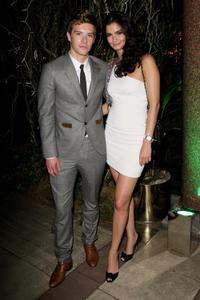 Xavier Samuel and Shermine Sharivar at the after party of the Gala premiere of