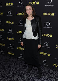 Lena Dunham at the New York premiere of