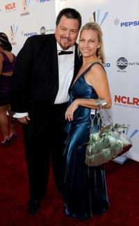 Rick Najera and Guest at the 2009 ALMA Awards.