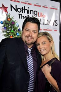 Rick Najera and Susie Najera at the premiere of