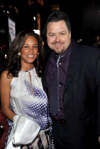 Alison Swan and Rick Najera at the premiere of
