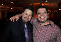Rick Najera and Alfredo De Villa at the after party of the premiere of