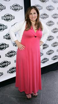 Kathy Najimy at the Outfest screening of