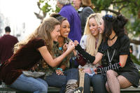 Nathalia Ramos, Logan Browning, Skyler Shaye and Janel Parrish in