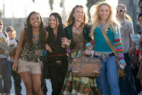 Logan Browning, Janel Parrish,  Nathalia Ramos and Skyler Shaye in