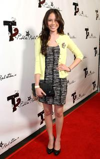 Malese Jow at the 2009 Totally Texty Teen Choice Awards Pre-party.