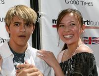 Rob Pinkston and Malese Jow at the Camp Ronald McDonald For Good Times 1st Annual Celebrity Teen Fashion Show.