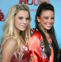 Emma Degerstedt and Malese Jow at the premiere of