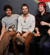 Ben Johnson, Jerad Anderson and Jackson Rathbone at the 100 Monkeys In Concert in New York.