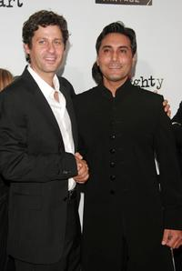 Gary Wilmes and Adnan Siddiqui at the premiere of