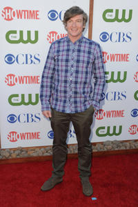 Rhys Darby at the TCA party for CBS, The CW and Showtime in California.