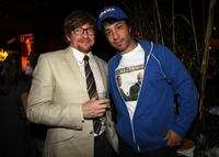 Rhys Darby and Arj Barker at the Comedy Central's