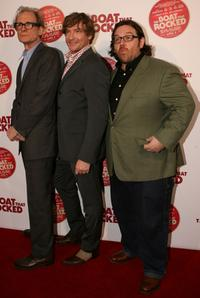 Bill Nighy, Rhys Darby and Nick Frost at the Australian premiere of