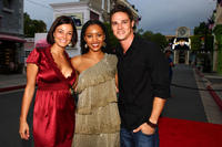 Kirsty Allan, Emelia Burns and Jay Ryan at the Australian premiere of