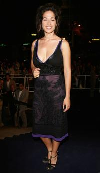 Diane Fleri at the premiere of