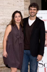 Diane Fleri and Luca Argentero at the photocall of