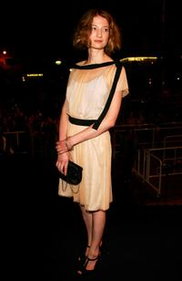 Alba Rohrwacher at the premiere of
