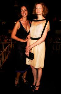 Diane Fleri and Alba Rohrwacher at the premiere of