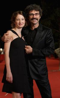 Alba Rohrwacher and Silvio Soldini at the premiere of