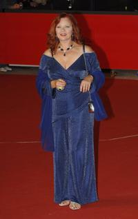 Agostina Belli at the premiere of