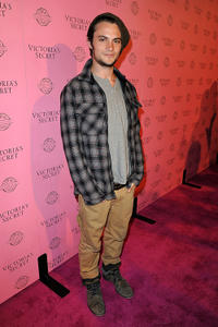 Shiloh Fernandez at the 2011 Victoria's Secret SWIM Collection Pink Carpet Event in California.