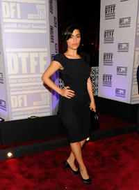 Yasmine Al Masri at the premiere of