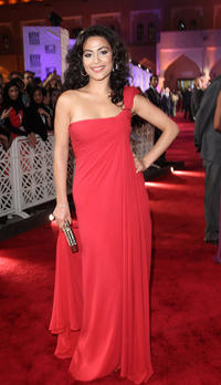 Yasmine Al Masri at the Opening Night Gala of 2010 Doha Tribeca Film Festival.