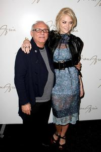 Max Azria and James King at the Max Azria 2008 fashion show during the Mercedes-Benz Fashion Week Fall 2008.