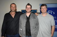 Vince Vaughn, director Seth Gordon and Steve Wiebe at the Los Angeles premiere of
