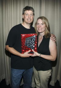 Steve Wiebe and Nicole Wiebe at the screening of