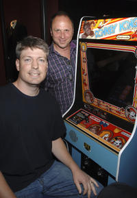 Steve Wiebe and Picturehouse president Bob Berney at the New York premiere of