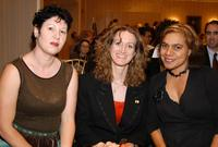 Jane Harrison, Jane Harrison and Kylie Belling at the friends of NIDA in America debut event.
