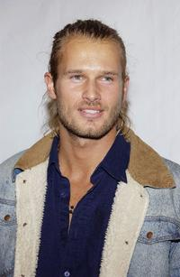 Johann Urb at the launch of Marciano hosted by Vanity Fair.