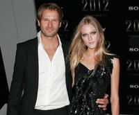 Johann Urb and Erin Urb at the premiere of