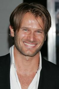 Johann Urb at the premiere of