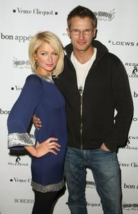 Paris Hilton and Johann Urb at the Sundance Film Festival.