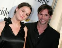 Cali Fredrichs and James O'Shea at the premiere of