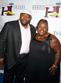 LaVan Davis and Cassi Davis at the seventh annual Hoodie Awards in Nevada.