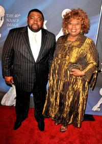 LaVan Davis and Guest at the 40th NAACP Image Awards.