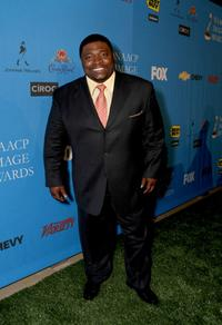 LaVan Davis at the 39th NAACP Image Awards.
