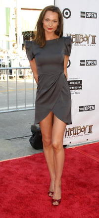 Anna Walton at the premiere of