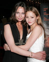 Anna Walton and Devon Aoki at the premiere of